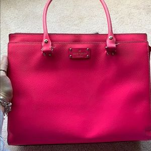 Pink 'KATE SPADE' purse